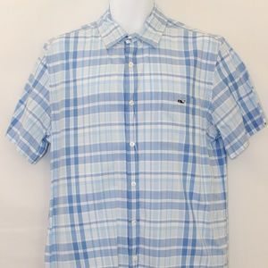Vineyard Vines Large Tucker Shirt - SS Button Down